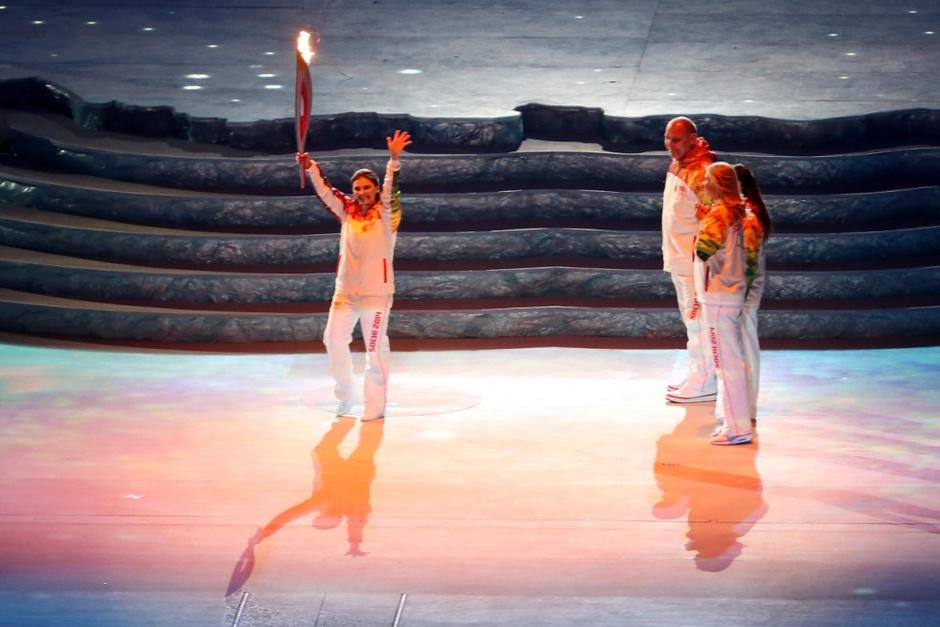 Торжественная церемония открытия XXII зимних Олимпийских игр на сочинском стадионе «Фишт»