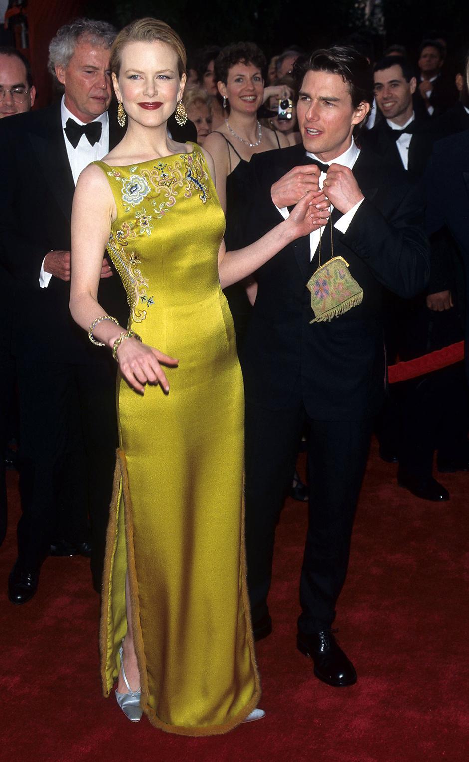 В платье Dior, 1997 год