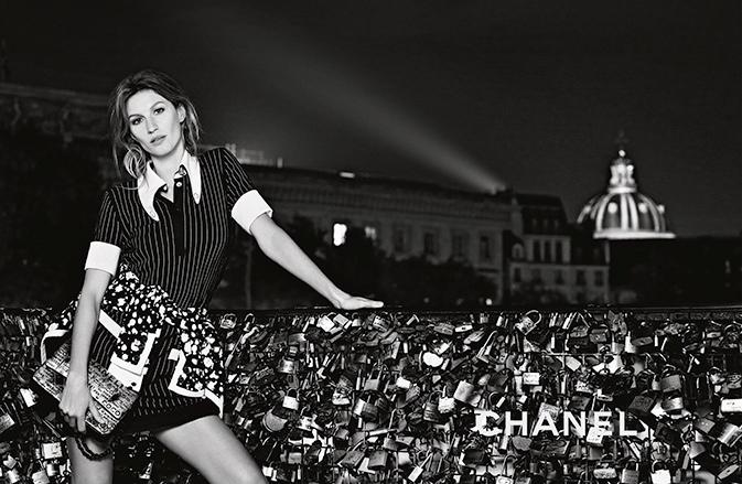 Достопримечательности Парижа в рекламной кампании Chanel