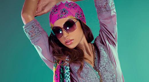 Туника и платок из коллекции итальянского бренда Venera