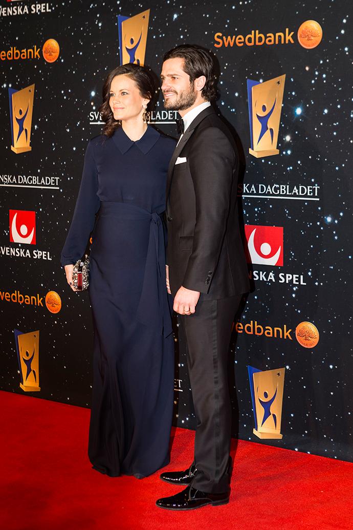 Принц и принцесса Швеции Карл Филипп и София