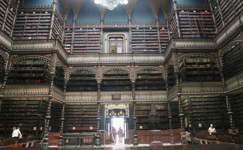 Португальская королевская библиотека, Бразилия