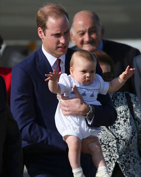 Лучшие фото принца Георга