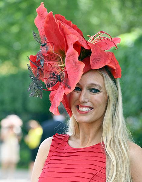 Королевские скачки в Аскоте: парад шляп | галерея [1] фото [31]