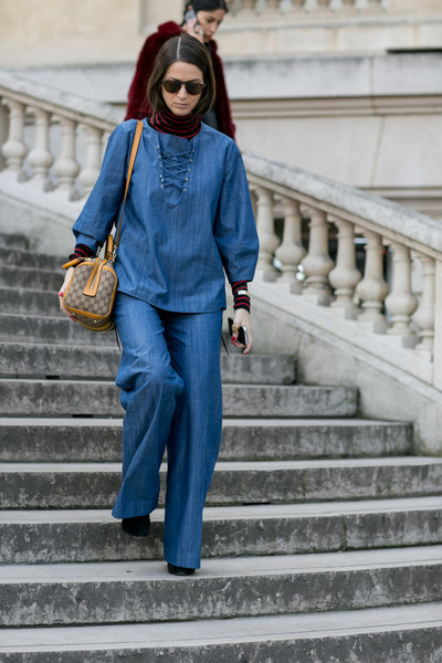 C чем носить джинсы осенью фото | галерея [1] фото [2]