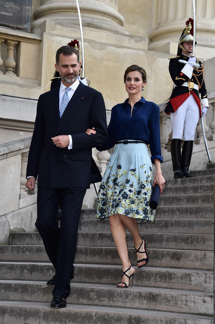 Король Филипп VI и королева Летисия