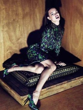 Наталья Водянова в рекламе Givenchy