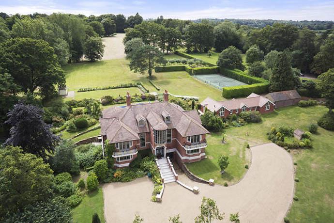 Дом Тома Круза в графстве Сассекс