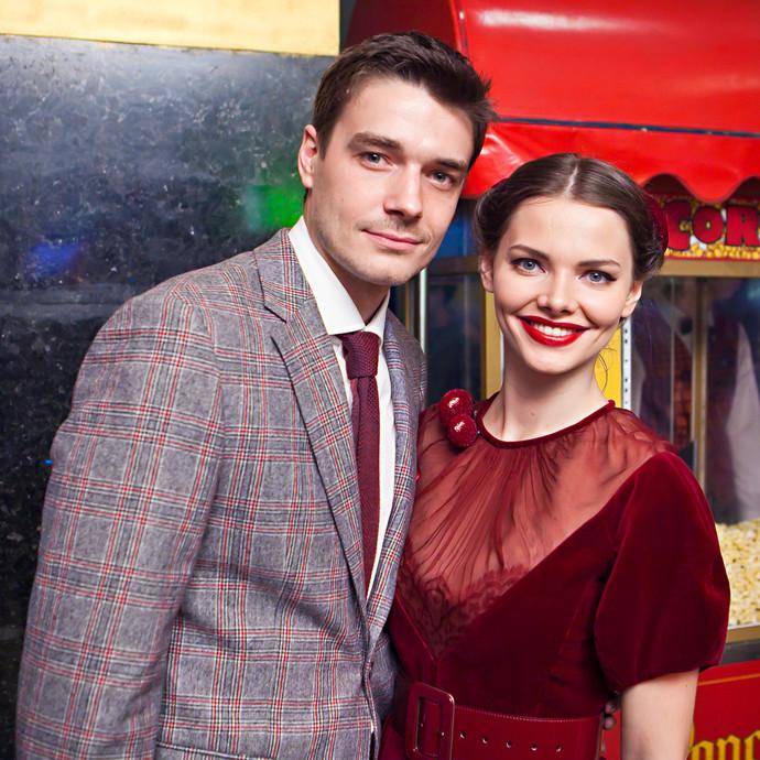 Максим Матвеев и Елизавета Боярская