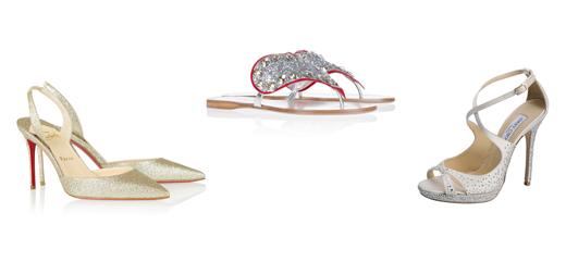 Свадебная обувь 2013: Christian Louboutin, Miu Miu, Jimmy Choo