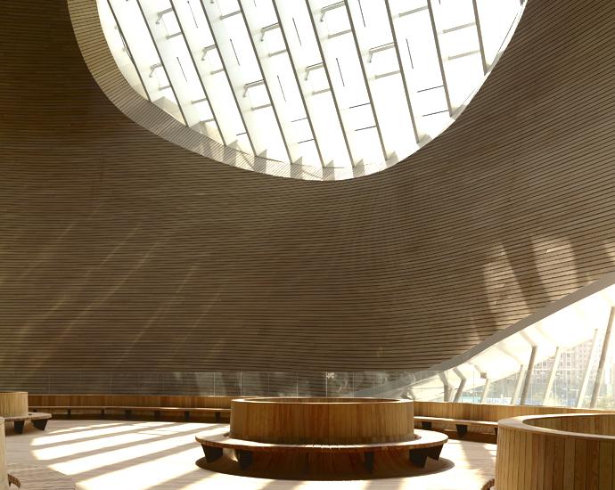 Музей искусств Ордос Китай