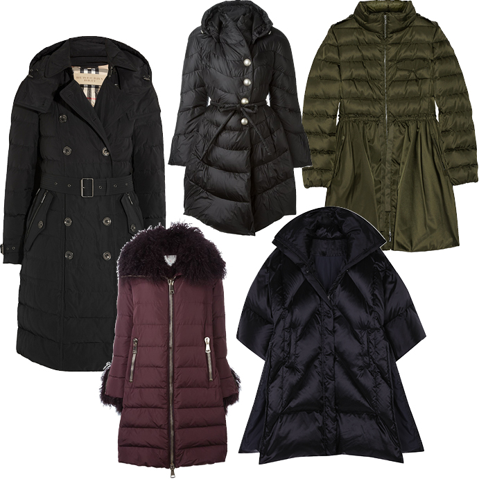 Теплая верхняя одежда на зиму