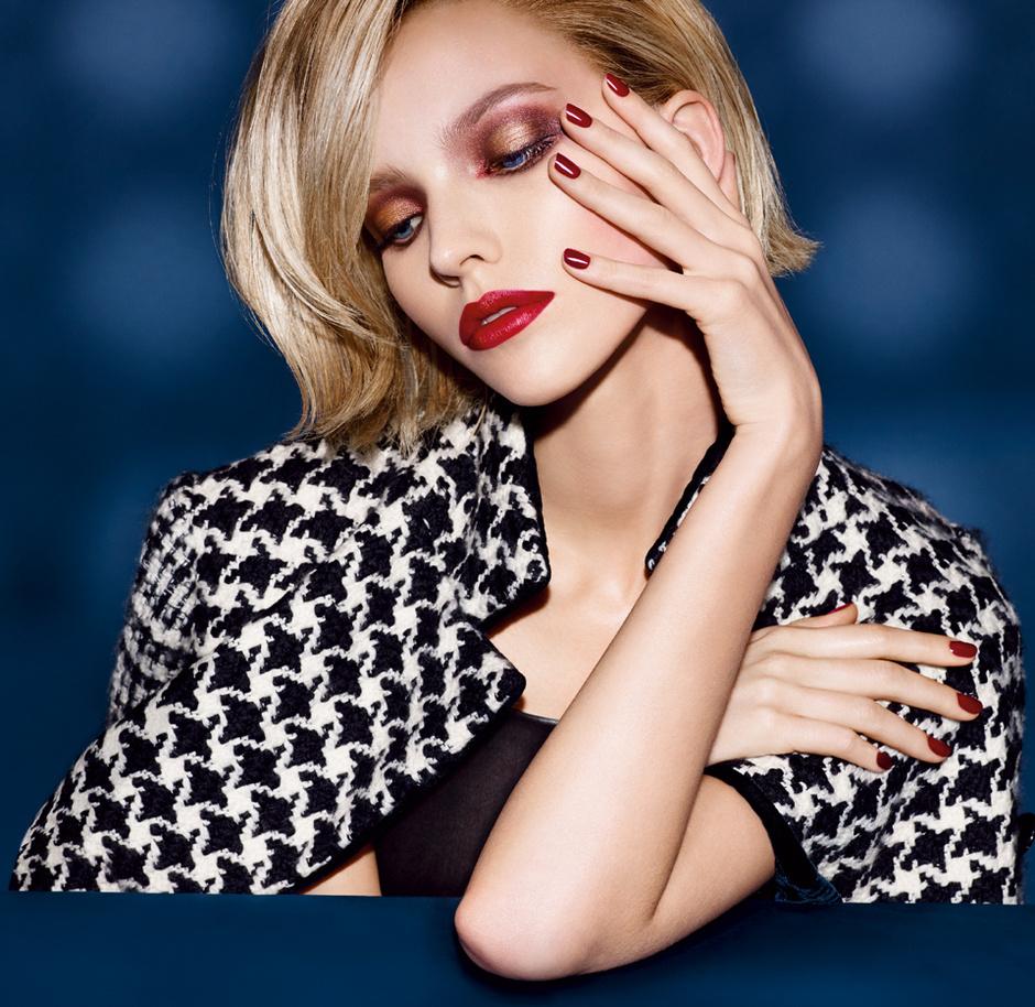 Саша Лусс в рекламе Christian Dior