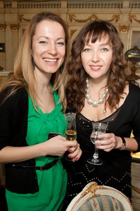 Кристина Жоссан и Ирина Михайловская
