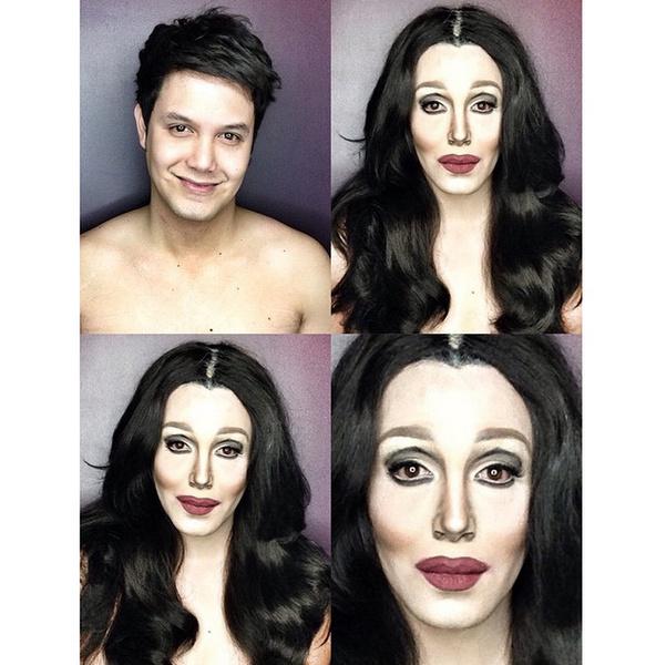 Филиппинский визажист перевоплотился в звезд с помощью макияжа | галерея [1] фото [12]