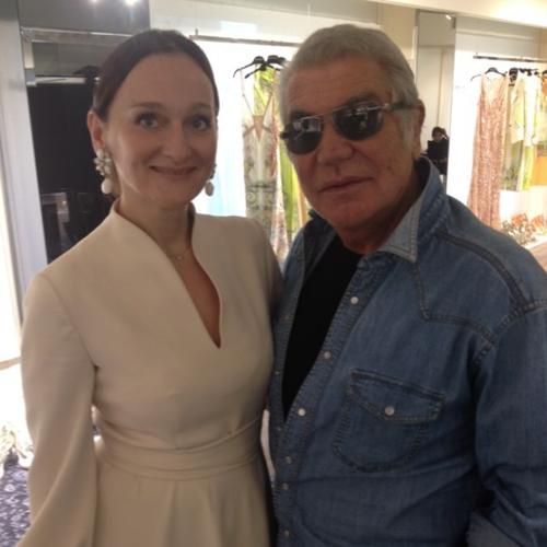 Лена Сотникова и Роберто Кавалли
