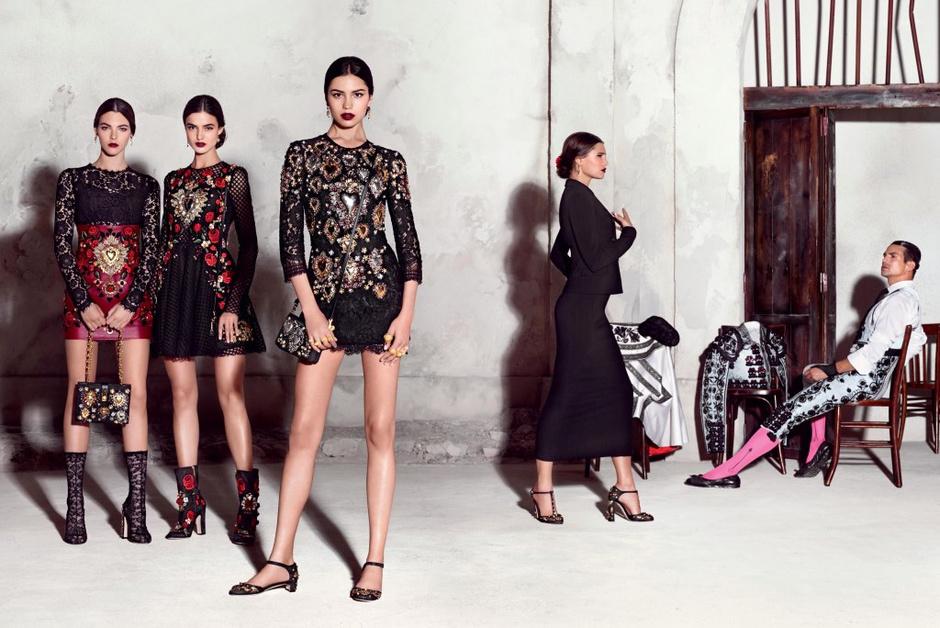 Dolce & Gabbana представили новую рекламную кампанию