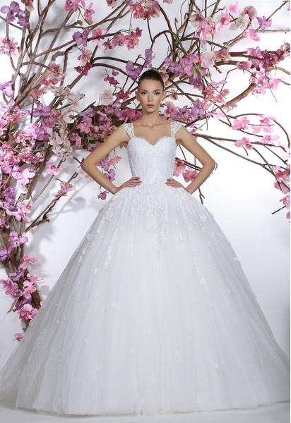 60 пышных свадебных платьев 2015 | галерея [1] фото [42]