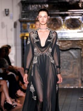 Показ коллекции Valentino haute couture осень-зима 2012/13