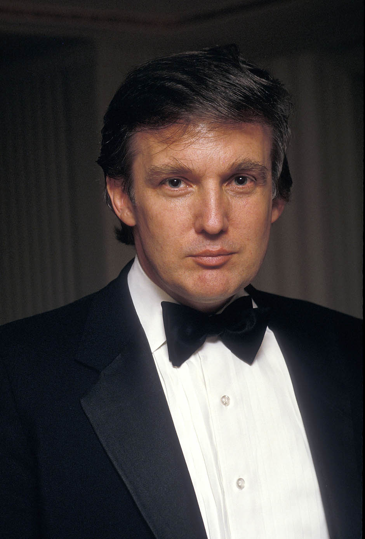 Редкие фото Дональда Трампа в молодости