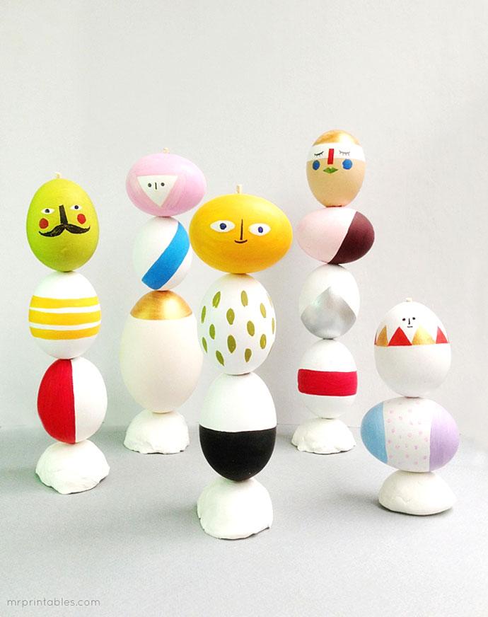 Как красить пасхальные яйца фото