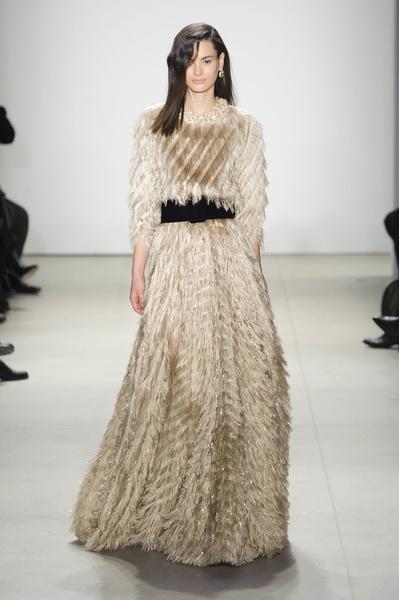 Самые красивые образы Недели моды в Нью-Йорке | галерея [1] фото [43]