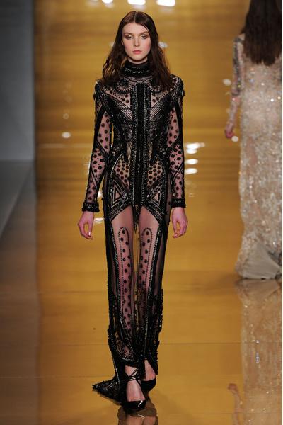 Black tie: показы Carolina Herrera, Reem Acra и Zac Posen на Неделе моды в Нью-Йорке | галерея [3] фото [10]