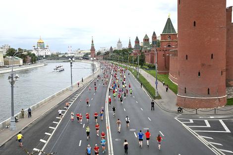 Музыкальный полумарафон на набережных Москвы фото 4