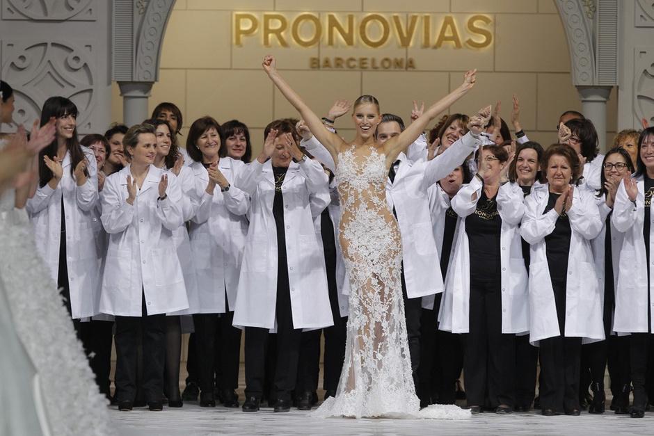 В Барселоне прошел показ новой коллекции Pronovias