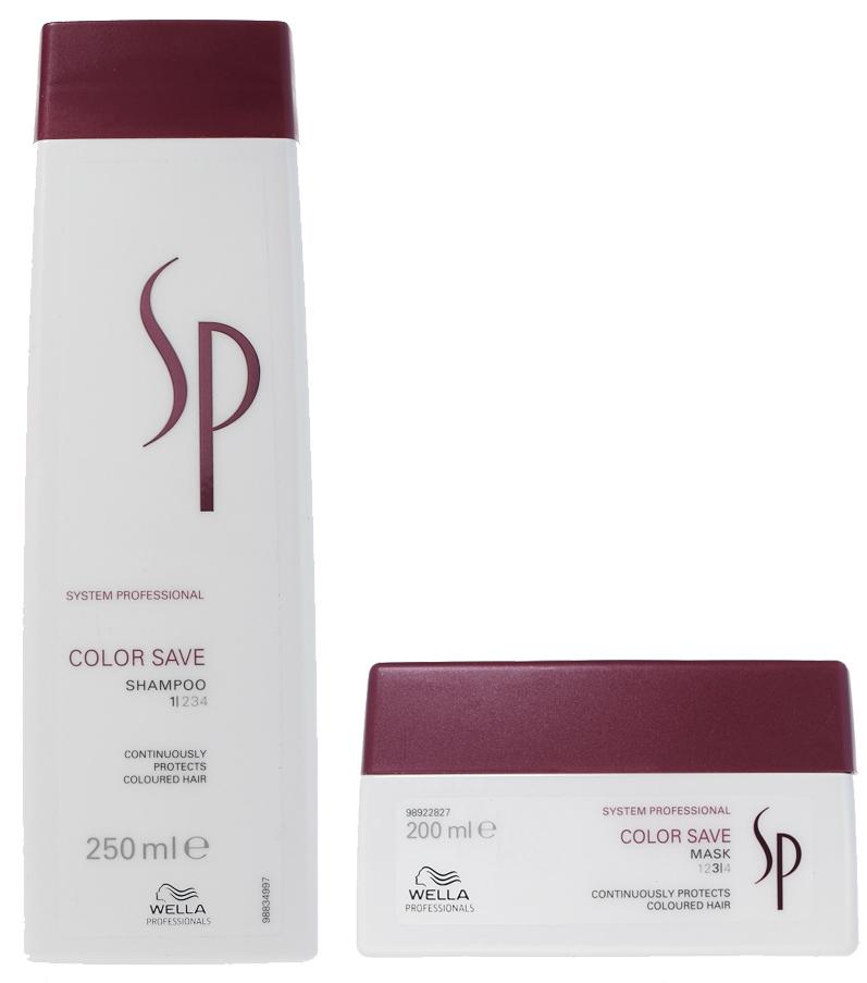 Шампунь и маска для окрашенных волос Color Save System Professional, Wella Professional
