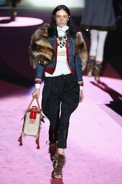 Показ DSquared2 на Неделе моды в Милане | галерея [2] фото [22]