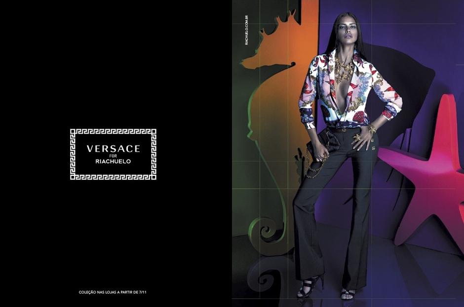 Адриана Лима для Versace