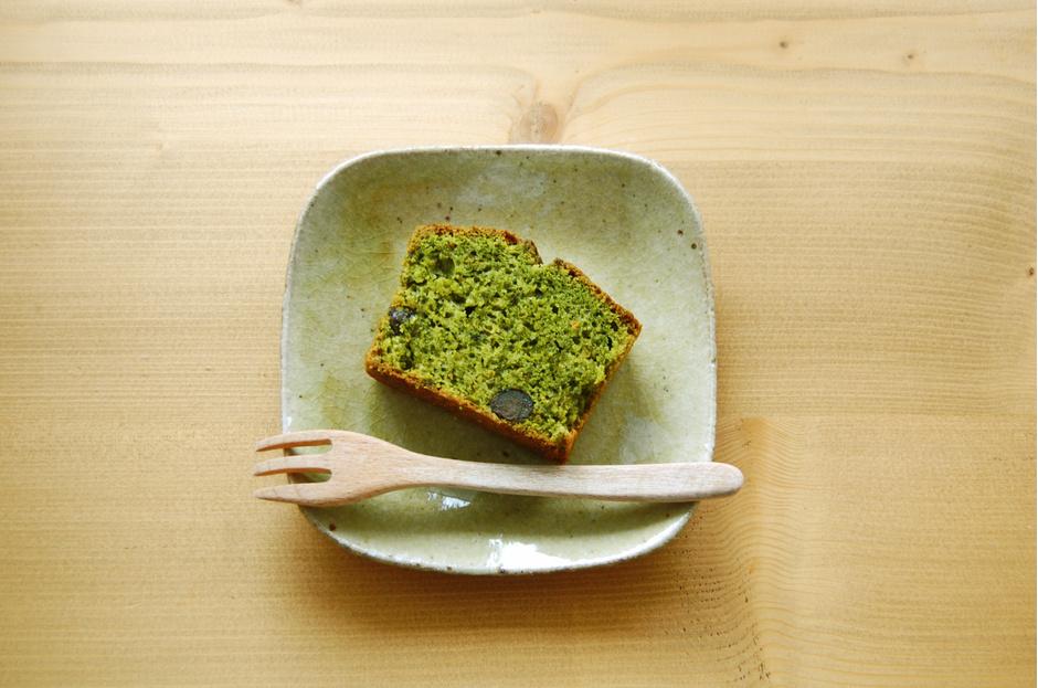 Кекс из зеленого чая