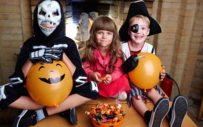 Trick or treat: детские наряды в стиле Halloween