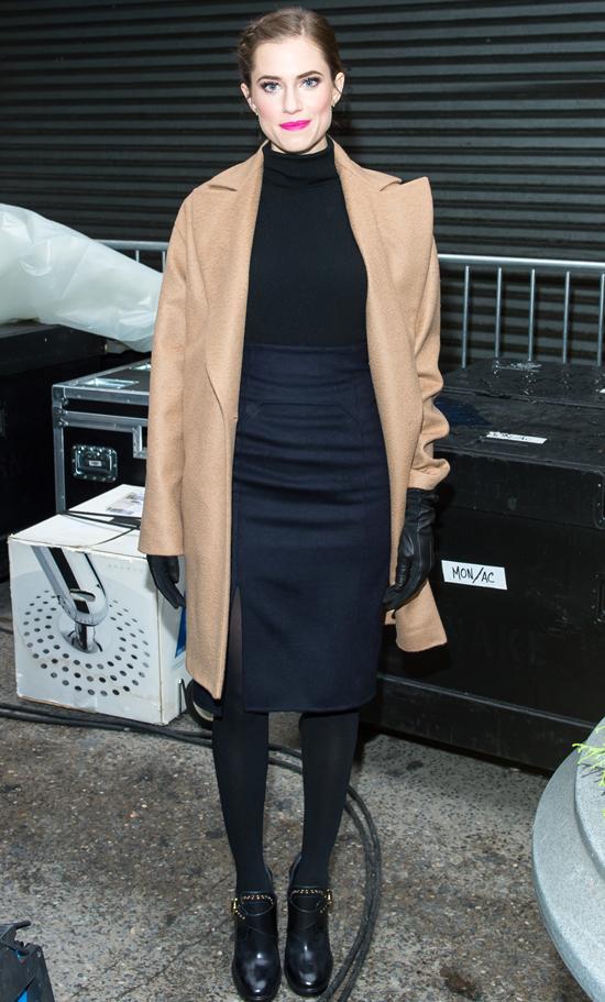 Эллисон Уильямс на рождественском параде Macy's в Нью-Йорке, 27 ноября 2014