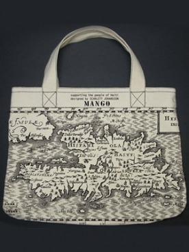Доходы от продажи этой сумки будут направлены в фонд помощи жителям Гаити