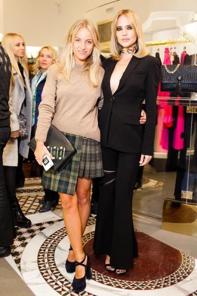 Селебрити на презентации осенней коллекции Versace | галерея [1] фото [1]