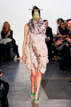 Показ Maurizio Galante коллекции сезона Весна-лето 2012 года Haute couture - www.elle.ru - Подиум - фото 330252