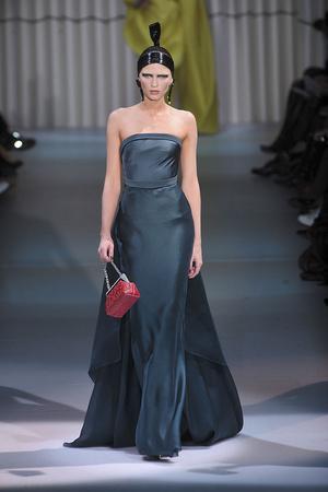 Показ Giorgio Armani Privé коллекции сезона Весна-лето 2009 года Haute couture - www.elle.ru - Подиум - фото 86759