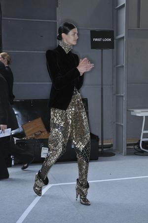 Показ Givenchy коллекции сезона Осень-зима 2009-2010 года haute couture - www.elle.ru - Подиум - фото 87835