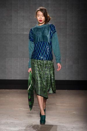 Показ New upcoming designers коллекции сезона Осень-зима 2014-2015 года prêt-à-porter - www.elle.ru - Подиум - фото 581353