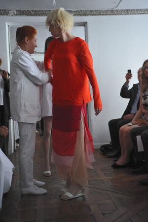 Показ Adeline Andre коллекции сезона Осень-зима 2009-2010 года Haute couture - www.elle.ru - Подиум - фото 87044
