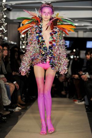 Показ Maurizio Galante коллекции сезона Весна-лето 2011 года haute couture - www.elle.ru - Подиум - фото 216009