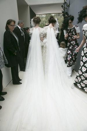 Показ  коллекции сезона Весна-лето 2013 года Haute couture - www.elle.ru - Подиум - фото 479832