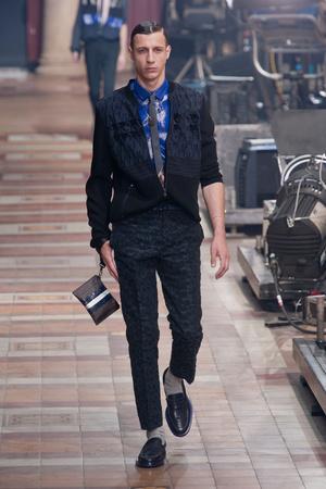 Показ Lanvin коллекции сезона Весна-лето 2014 года Men prêt-à-porter - www.elle.ru - Подиум - фото 556946