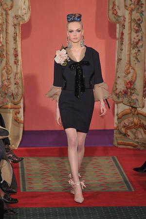 Показ Christian Lacroix коллекции сезона Весна-лето 2009 года haute couture - www.elle.ru - Подиум - фото 86454