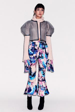 Показ Epson Digital Couture коллекции сезона Осень-зима 2017-2018 года Prêt-à-porter - www.elle.ru - Подиум - фото 619129