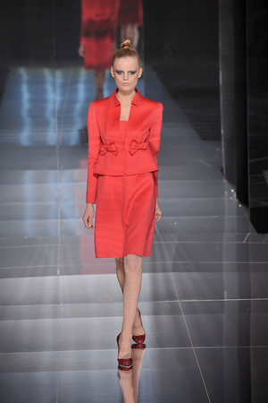 Показ Valentino коллекции сезона Весна-лето 2009 года Haute couture - www.elle.ru - Подиум - фото 86969