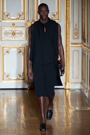 Показ Rad Hourani коллекции сезона Весна-лето 2014 года Haute couture - www.elle.ru - Подиум - фото 575275
