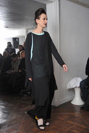Показ Adeline Andre коллекции сезона Весна-лето 2009 года Haute couture - www.elle.ru - Подиум - фото 86144